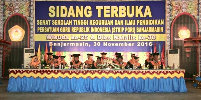 Wisuda Sarjana STKIP PGRI Banjarmasin Ke XXV