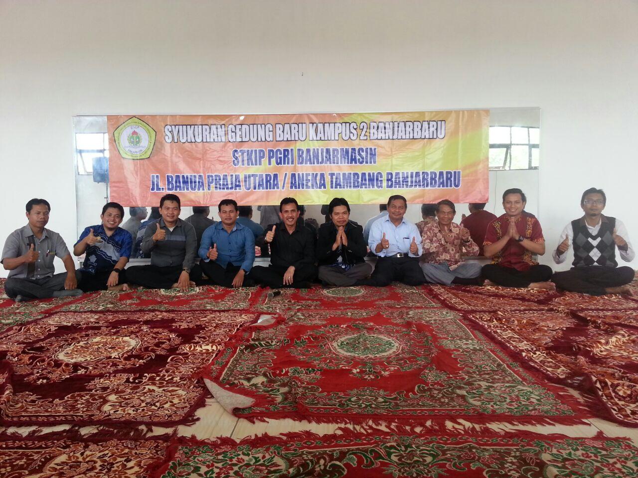Peresmian Gedung Baru STKIP PGRI di Banjarbaru
